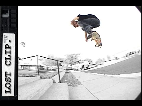 Richard Angelides Lost & Found Skatebparding Clip #128