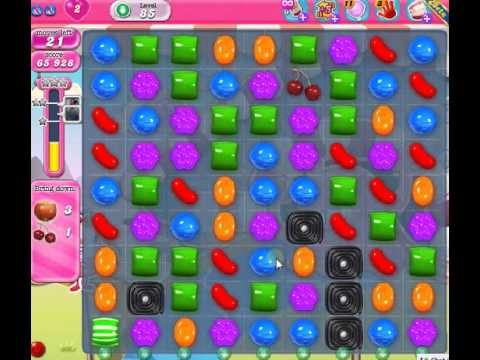 How to beat Candy Crush Saga Level 85 - 1 Stars - No Boosters - 117 ...