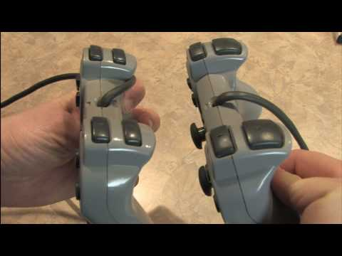 Classic Game Room HD - PLAYSTATION DUALSHOCK 1 Controller review