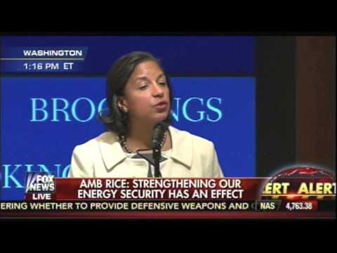 Susan Rice explains 'strategic patience'