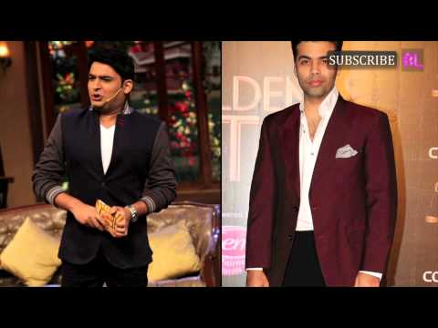 Kapil Sharma, Alia Bhatt and Karan Johar to host Filmfare Awards this year