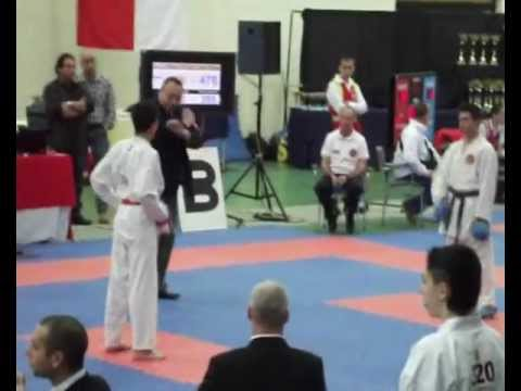 Boris dojo on malta karate open international championships