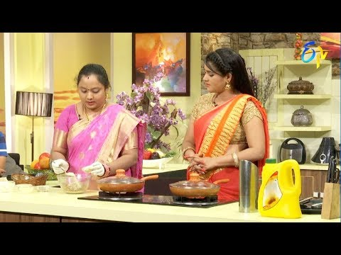 Telugu Ruchi | 18th August 2018 | Full Episode | ETV Telugu