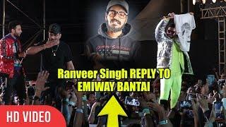 Ranveer Singh Prasing Divine 101 Divine Is The Biggest Gullyboy