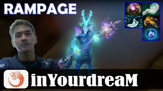 inYourdreaM - Leshrac MID | RAMPAGE 7.18 Update Patch | Dota 2 Pro MMR Gameplay