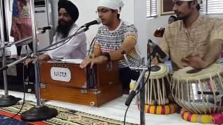 Guru Ramdas Rakho Sarnai by Harjote Singh, Bhai Jarmaljeet and Milan jee at VI temple Lagos.