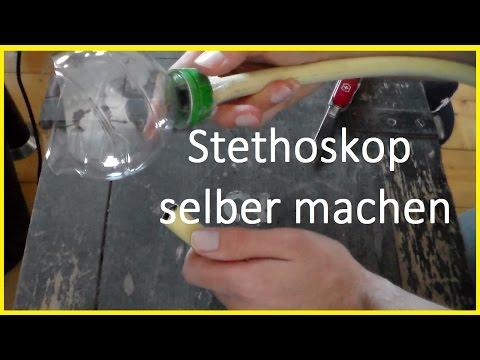Stethoskop selber basteln - Abhörgerät selber bauen - Durch Wände hören