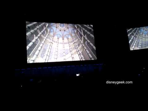 D23 Expo 2011 - Shanghai Disneyland Castle Fly Around