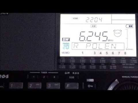 Shortwave Gold 6245 khz  Pirate Station