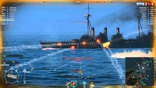 World of Warships American Tier 4 USS Phoenix