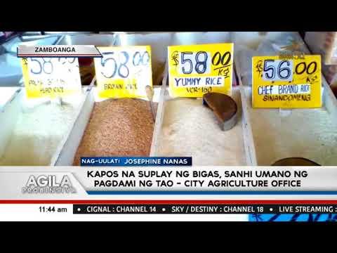 Kapos na suplay ng bigas, sanhi umano ng pagdami ng tao - City Agriculture Office thumbnail
