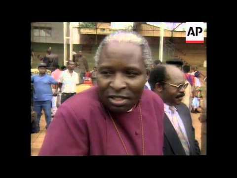 RWANDA: SIX THOUSAND RWANDANS KILLED LAST YEAR, LAID TO REST