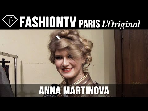 Anna Martynova: My Look Today | Model Talk | Fashiontv video