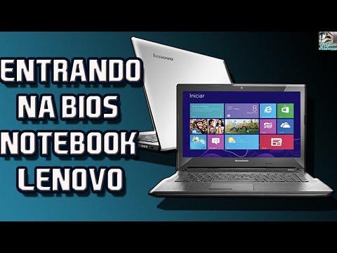Entrando e Destravando a Bios ou Setup do Notebook Lenovo G40-70 e Configurando