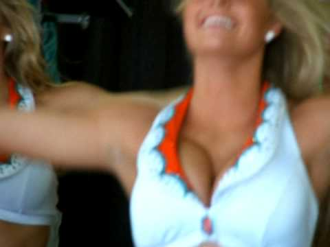 Dolphins Cheerleader Video