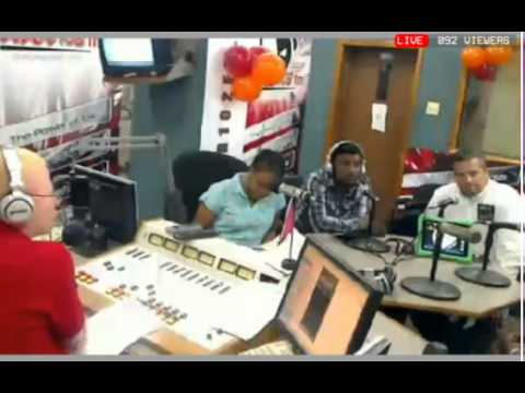 DigitalPan (Steelpan) | Interview Power 102.1FM [Sir Charles Show] (2-8-2013)