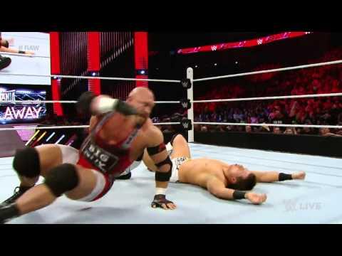 Ryback Vs. The Miz: Raw, March 16, 2015 video