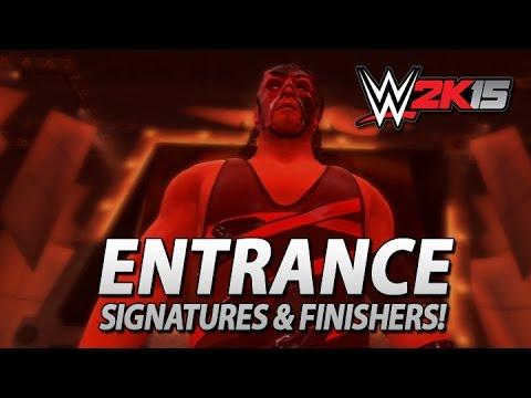 Wwe 2k15: Retro Kane Entrance, Signatures & Finishers! video