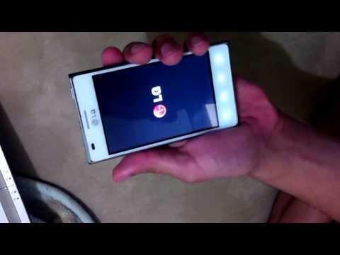 Como dar reset no LG Optimus L5