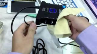 Hướng dẫn kết nối sound carrd xox K10 và mic thu âm , kết nối dây phát livestream cách sử dụng