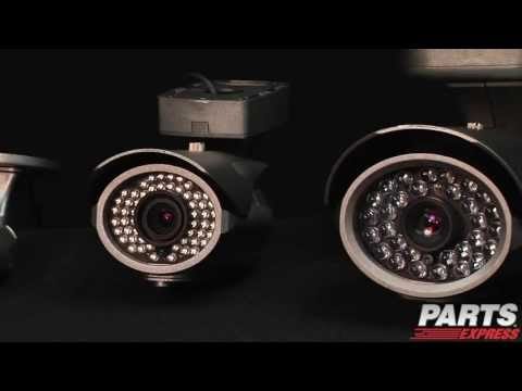 Talos HD-SDI Bullet and Dome Security Cameras