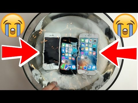Is the new Apple iPhone SE WATERPROOF?! A iPhone 5S vs SE vs 6S Water Test!