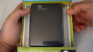 Western Digital My Passport 2TB USB 3.0 portable hard drive review