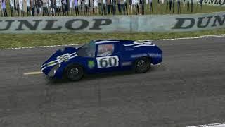 rFactor CSGT Sports 2000 Porsche 910  hot lap at Le Mans '70