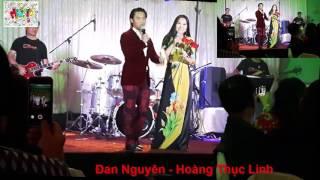Đan Nguyên đòi hát song ca 10 bài với Hoàng Thục Linh cực HOT