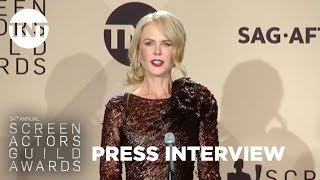 Nicole Kidman: Press Room Q&A | 24th Annual SAG Awards | TNT