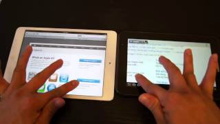 Ipad Mini Vs. Samsung Galaxy Tab 2 7.0