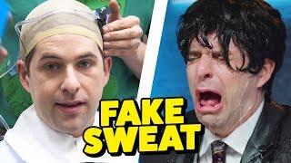 HOW TO MAKE FAKE SWEAT! (This Week in Smosh)