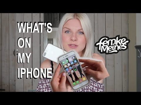 What's on my iPhone 📱 | Femke Meines