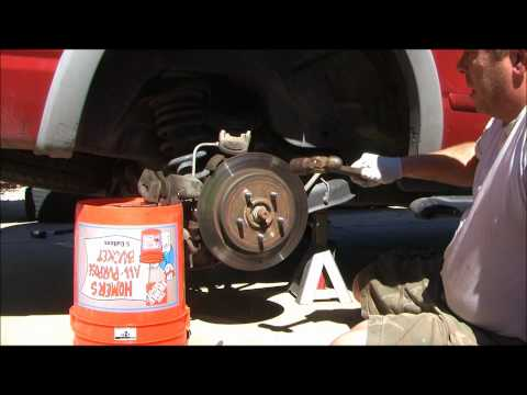 2002 Ford Explorer Replacing the rear Brake Rotors and Brake pads