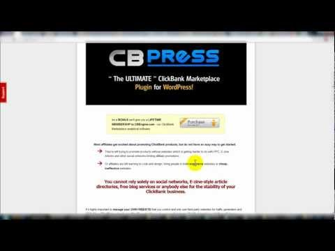 CB Press Review Overview Video - CBPress Clickbank WP Plugin - Clickbank Wordpress Plugin Review.mp4