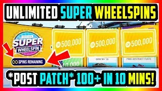 *POST PATCH* UNLIMITED SUPER WHEELSPINS GLITCH FORZA HORIZON 4 *NEW* INSANE EXPLOIT!