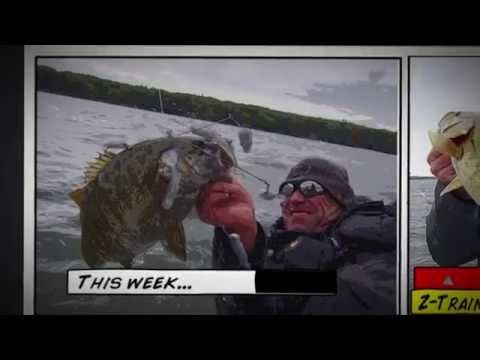 This Week on Dave Mercer's Facts of Fishing THE SHOW - Umbrella-Rig Pain With Z-Train
