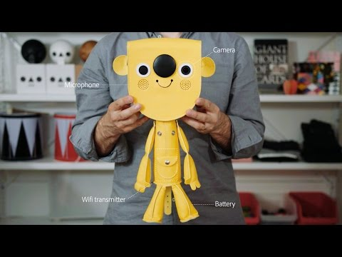 Walter –The Interactive Visitor Toy by Acne JR