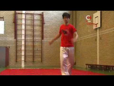CRTV.NL Chinese Dutch Wushu Champion Bao Yao Fei
