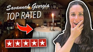 Eating At The BEST Reviewed Restaurant In Savannah Georgia (5 STAR)