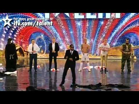 One of the most funny act on Britains got talent Music Videos