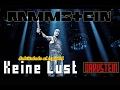 Rammstein Keine Lust Subtitulado Al Español Live 2012 mp3