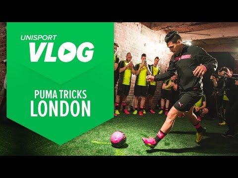 Puma Tricks Launch Event with evoSPEED and evoPOWER | Unisport VLOG London