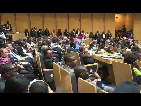 President Uhuru Kenyatta's Remarks at The 26th AU Summit in Addis Ababa, Ethiopia.