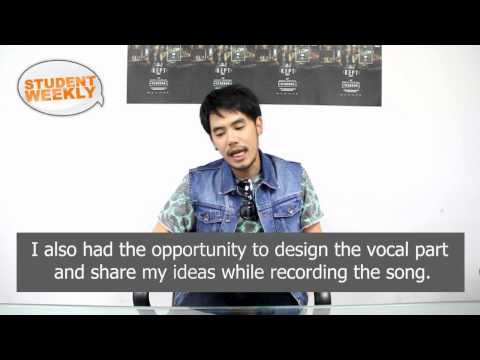 DJ Oung Interview Bangkok Post Student Weekly