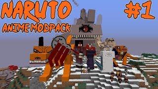 PATH TO BECOME THE STRONGEST SHINOBI!    Naruto Anime Modpack Episode 1 (Minecraft Naruto Anime Mod)