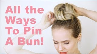 Tips and Tricks: How to Bobby Pin a Bun! - KayleyMelissa
