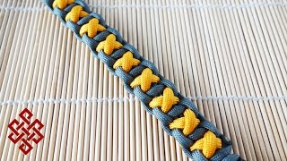 How to Make the XOXO Bar Paracord Bracelet Tutorial