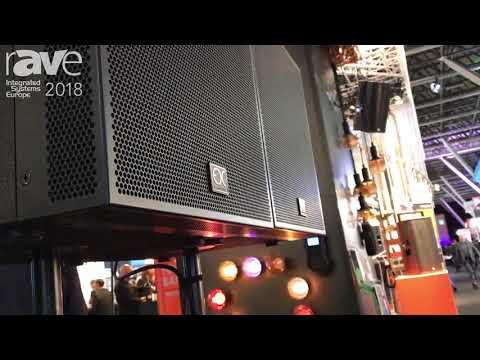 ISE 2018: EDC Acoustics Launches Plane Array Speakers