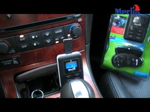 Car MP3 Player with Bluetooth Handsfree function from Merln Digital